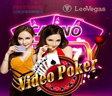 LeoVegas Video Poker Free Bonus Codes poker-days.com